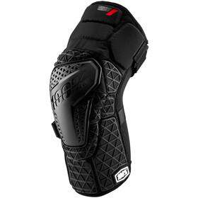 100% Surpass Protège-genoux, black